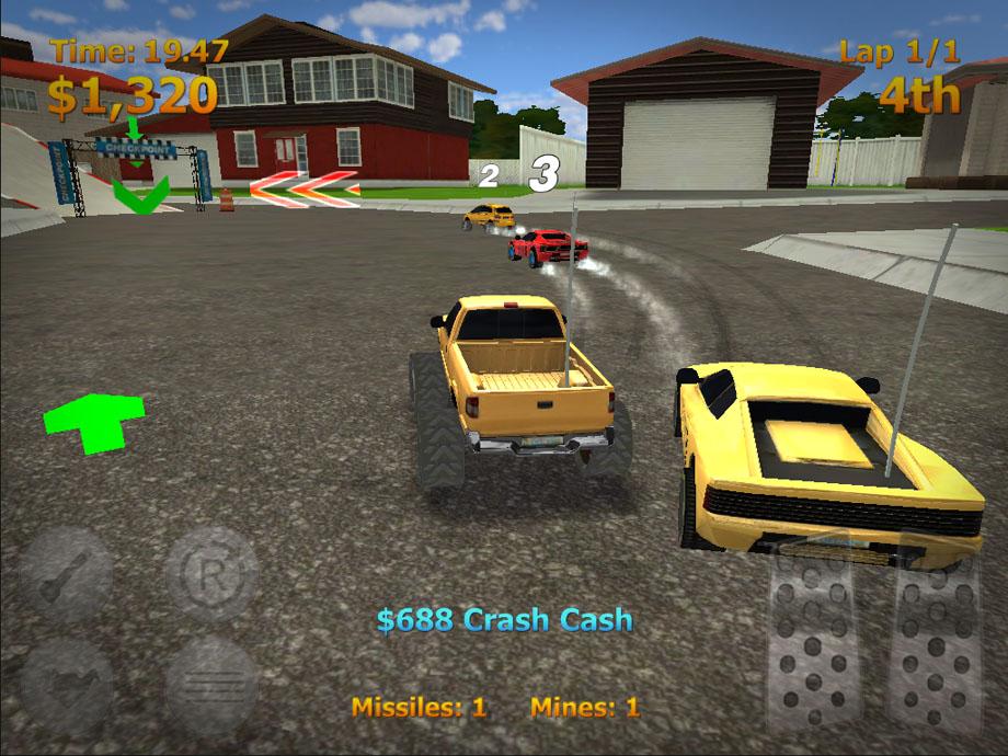 rc mini racers game